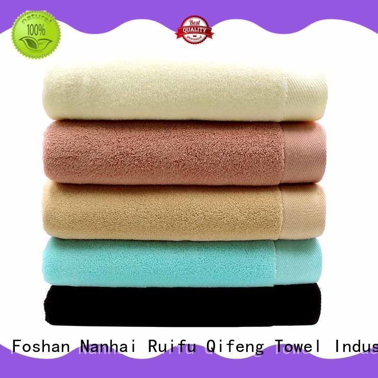 sports gift towel on sale for club Ruifu Qifeng