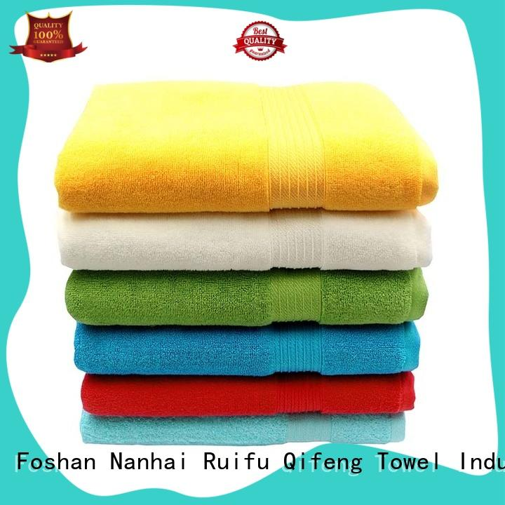good quality large bath towels qf006d1057 supplier for hotel