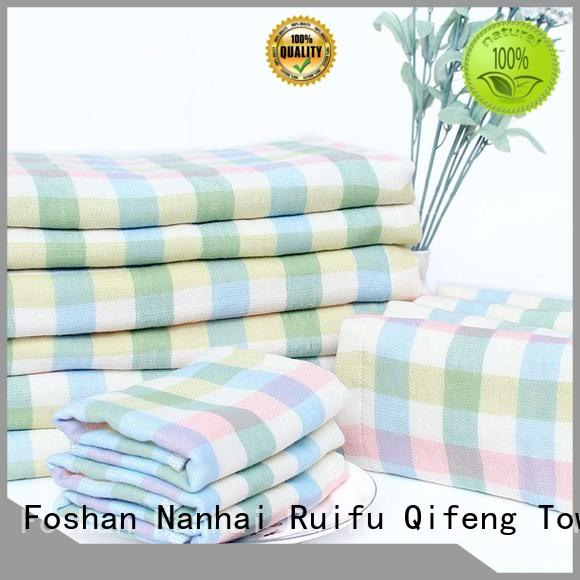 Ruifu Qifeng infant baby towel series promotion for hotel