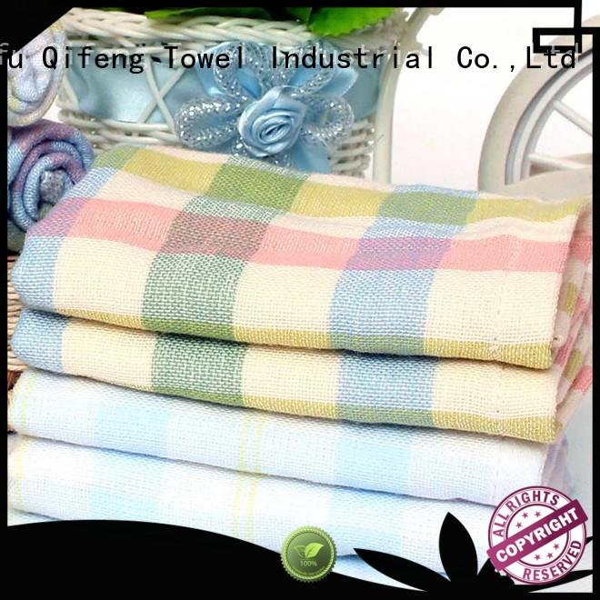 Ruifu Qifeng kids baby hooded towel design for kindergarden