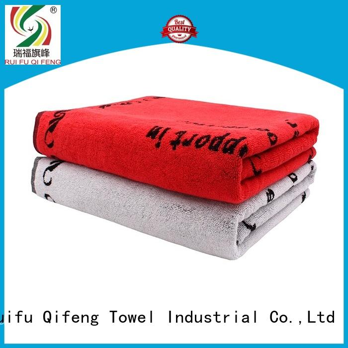 Ruifu Qifeng pool personalised beach towels qf002d1212 for beach