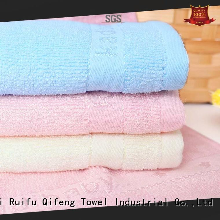 comfortable baby hooded bath towel qf014f01 supplier for hospital