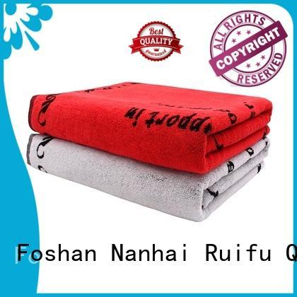 Ruifu Qifeng cotton custom beach towels directly price for beach