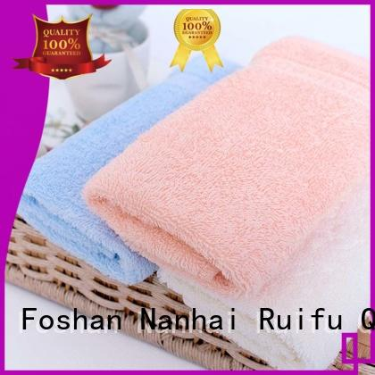 Ruifu Qifeng towels bamboo baby towel promotion for hospital