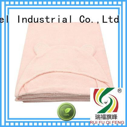 Ruifu Qifeng customized baby poncho towel supplier for hotel