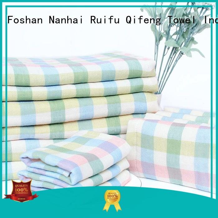 Ruifu Qifeng comfortable soft baby towels supplier for home