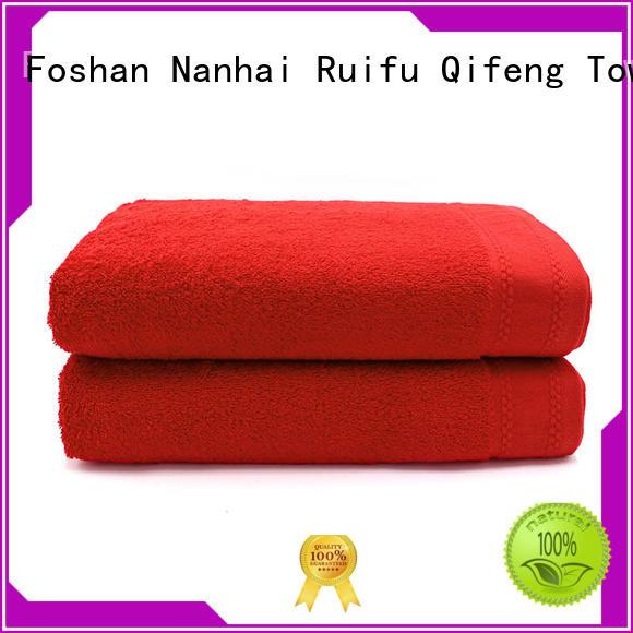 Ruifu Qifeng beach towel series promotion for swimming