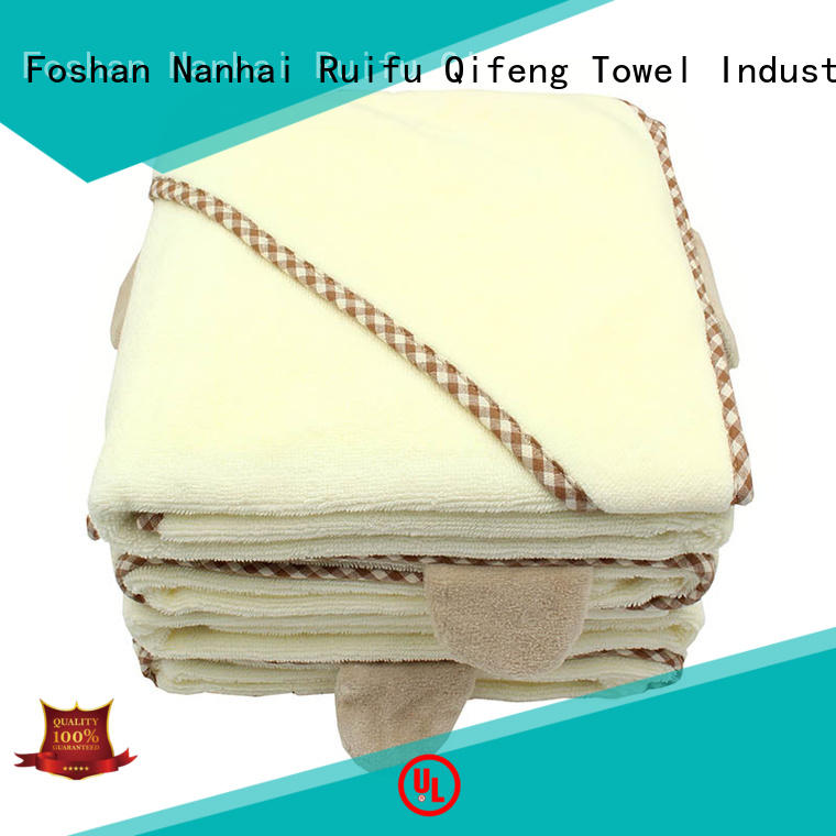 Ruifu Qifeng children bamboo baby towel promotion for hospital
