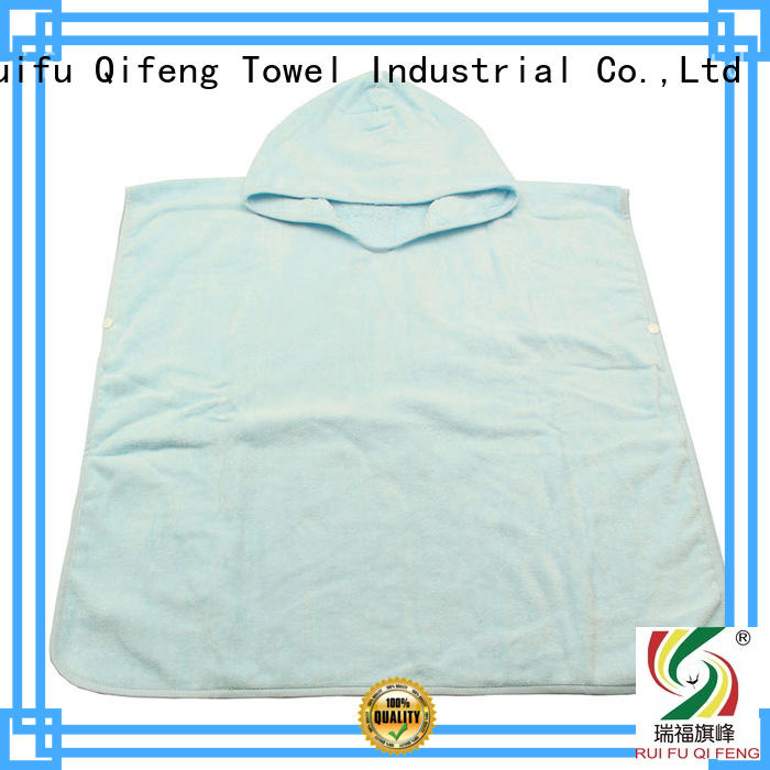 Ruifu Qifeng customized bamboo baby hooded towel supplier for home