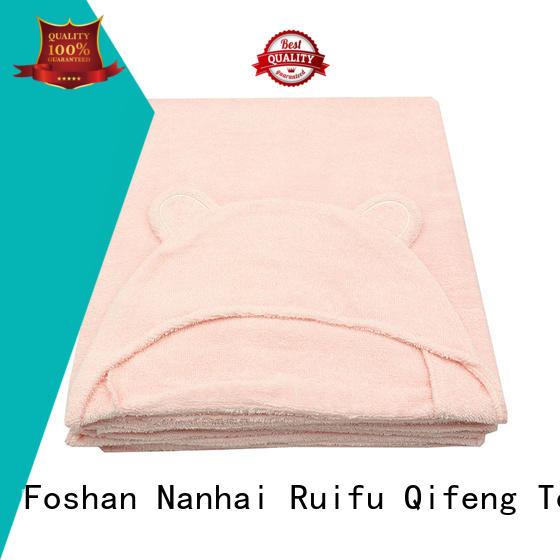 personalized bamboo velour OEM luxury beach towels Ruifu Qifeng