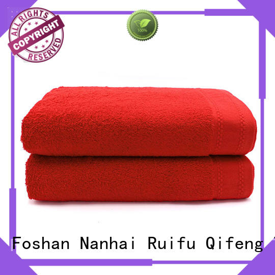 thick beach towels jacquard for beach Ruifu Qifeng