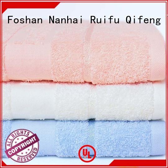 Ruifu Qifeng professional soft baby towels design for hospital