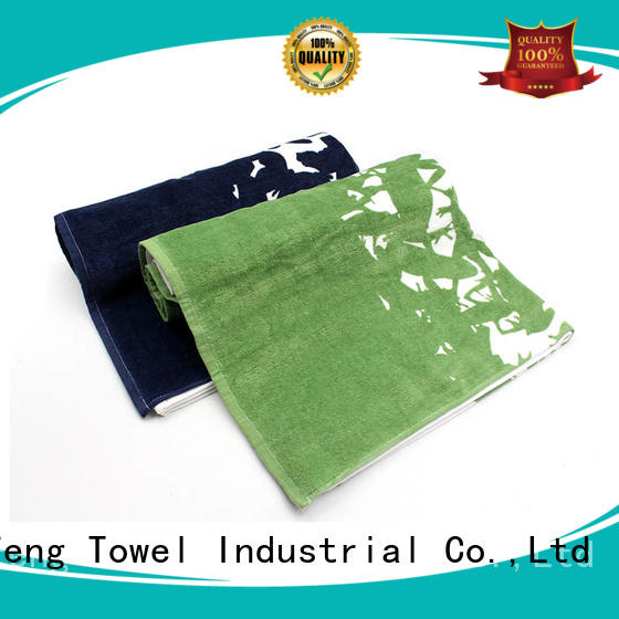 Ruifu Qifeng hand large bath towels factory price for restaurant