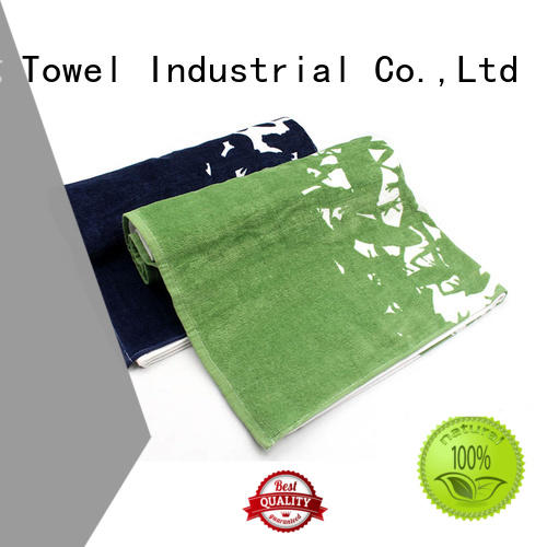 Ruifu Qifeng monogrammed large bath towels factory price for hospital