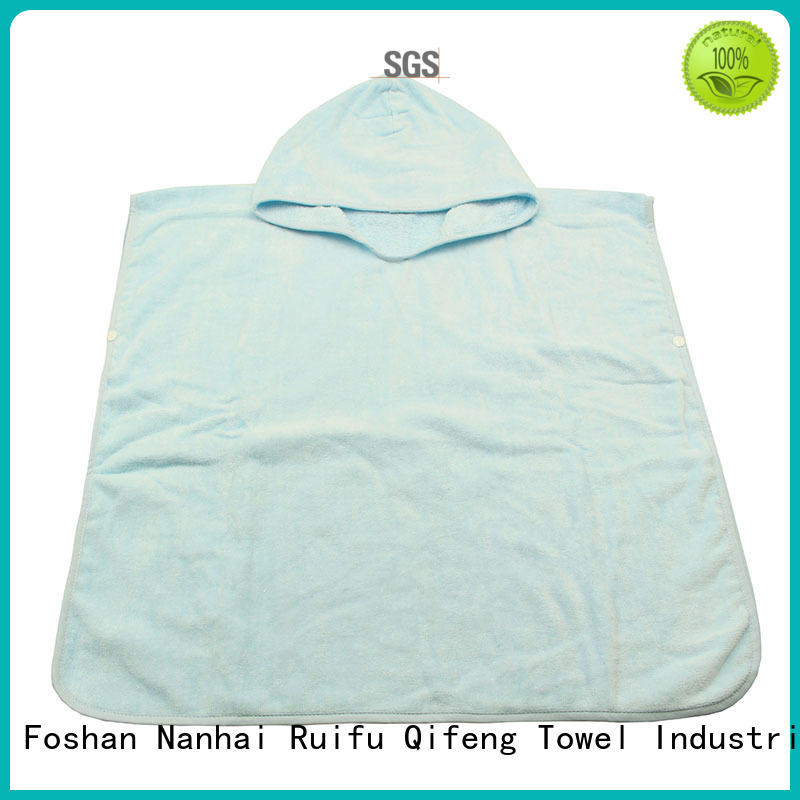 safe organic bamboo baby towels qf016b823 promotion for hospital