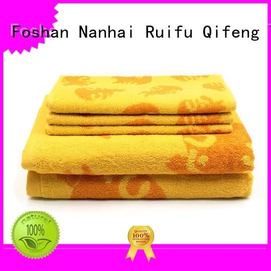 Ruifu Qifeng soft towel set series supplier for club