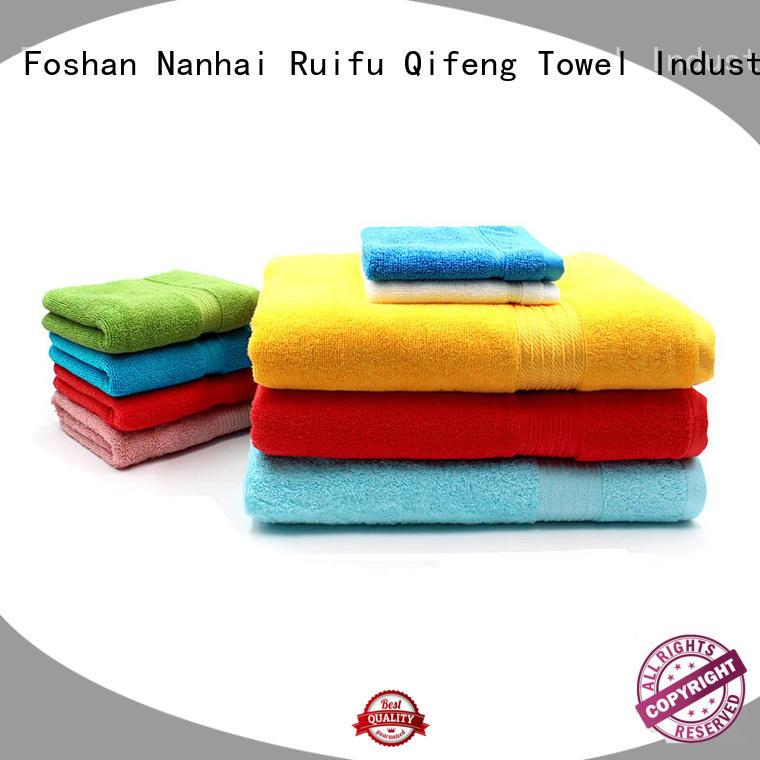 Ruifu Qifeng organic cotton towel set on sale for club