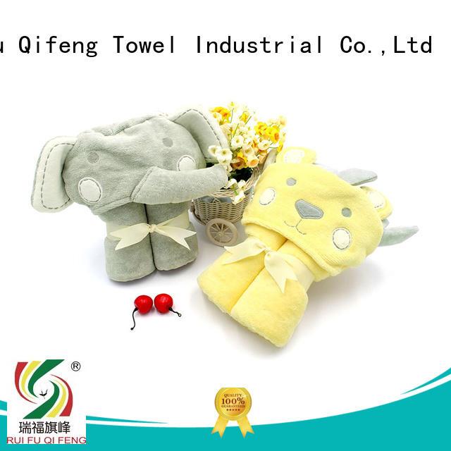 customized newborn baby towel cotton design for hospital