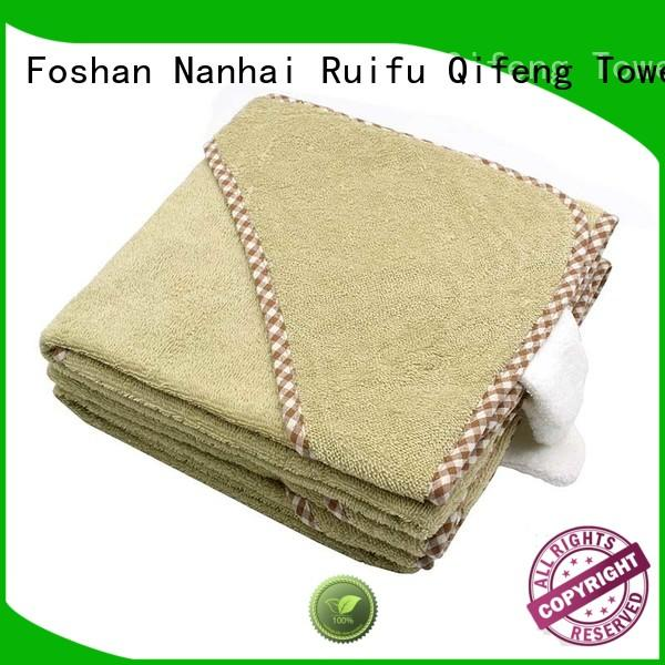 Ruifu Qifeng qf014f01 soft baby towels online for kindergarden