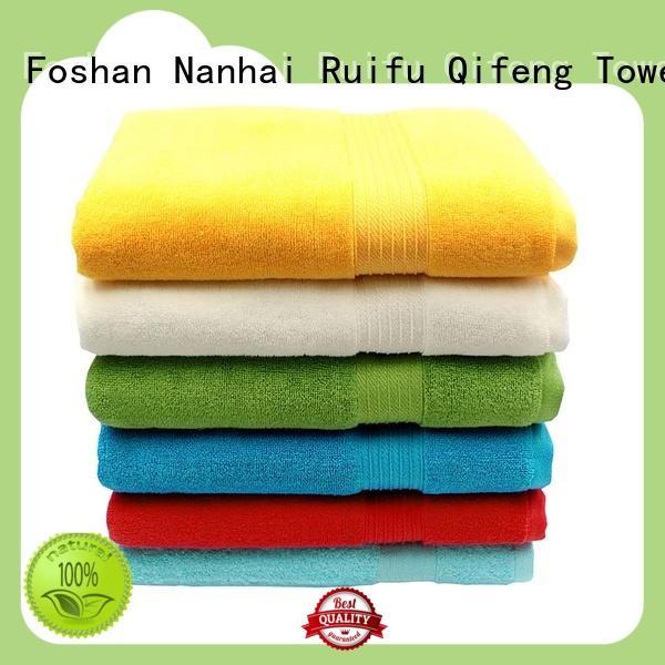 Ruifu Qifeng towel shower towel factory price for beach