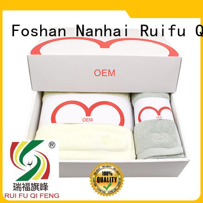 Ruifu Qifeng luxury fast drying towels sets for home