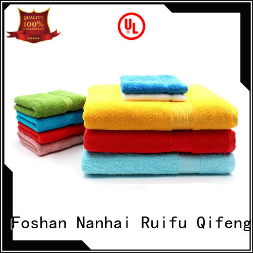 Ruifu Qifeng thickness towel set series on sale for hospital