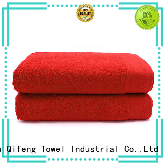 extra large beach towels yarned promotion for pool