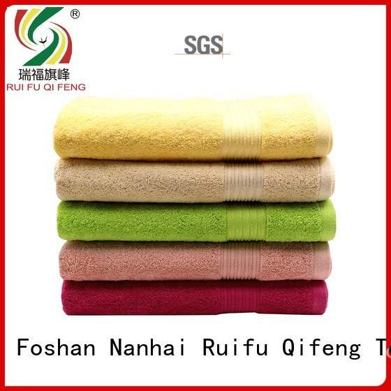 Ruifu Qifeng professional personalized beach towels supplier for swimming