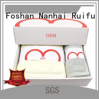 Ruifu Qifeng turban terry towel manufacturers factory price for beach