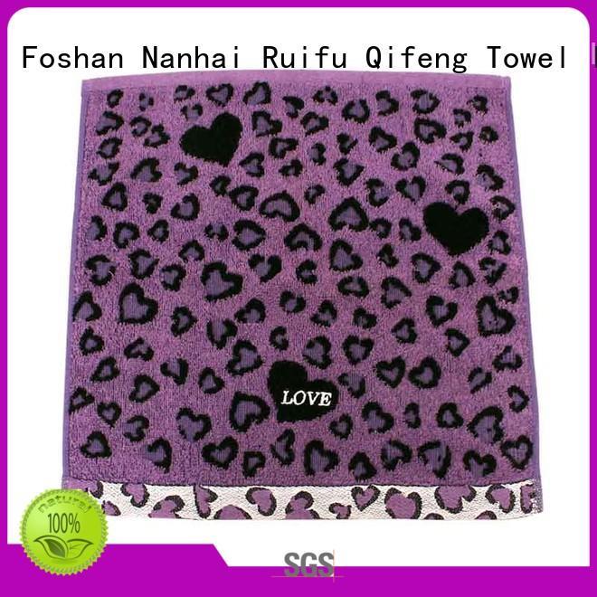 Ruifu Qifeng hair terry towel manufacturers sets for club