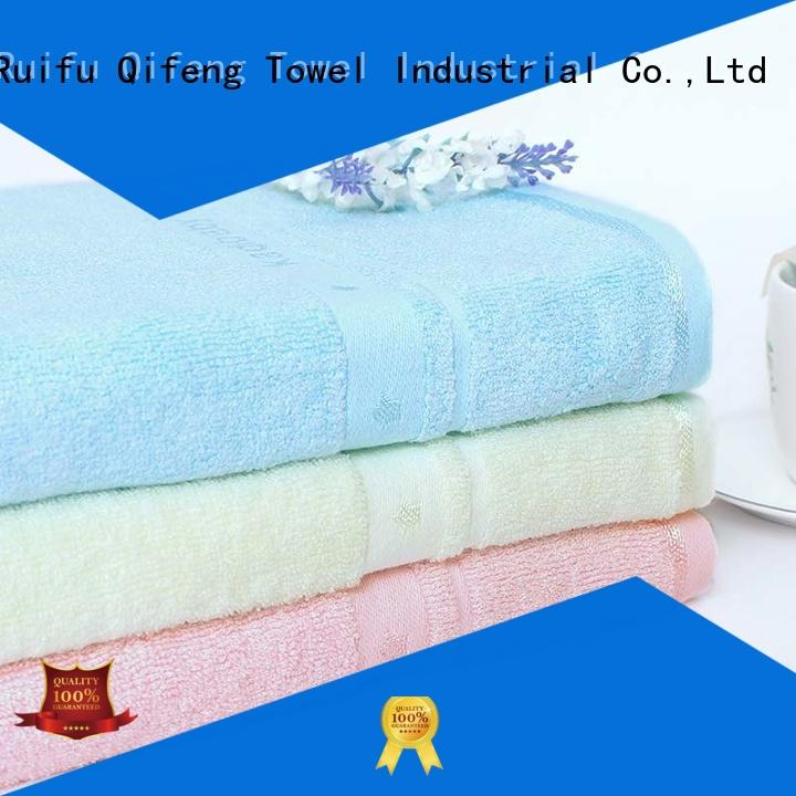 Ruifu Qifeng kids bamboo baby towel promotion for home