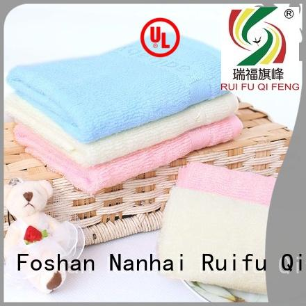 Ruifu Qifeng customized soft baby towels promotion for hotel