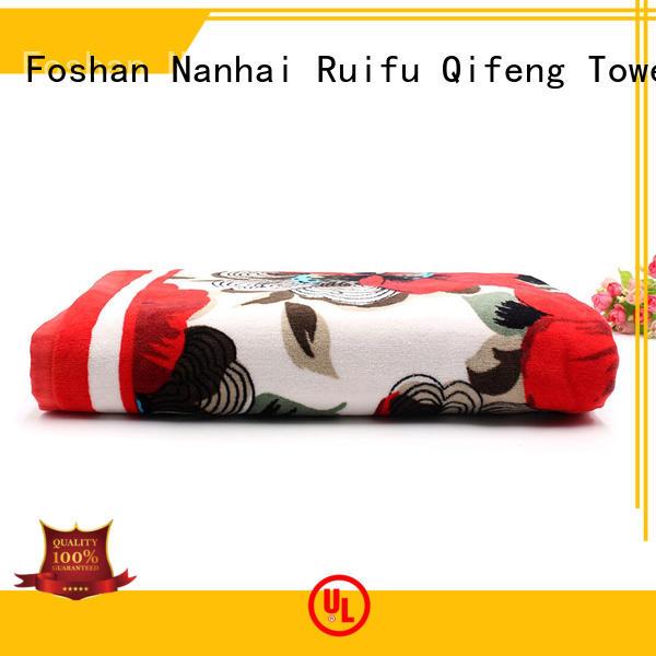 Ruifu Qifeng good quality beach towel series promotion for pool
