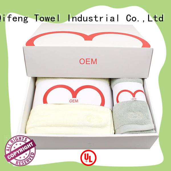 Ruifu Qifeng gym custom towels cotton for hospital