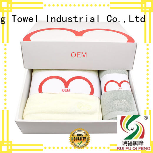 Ruifu Qifeng kids terry towel manufacturers supplier for club