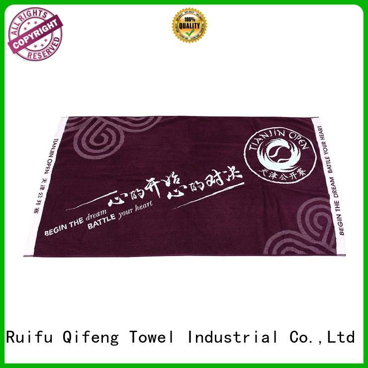 fast drying towels highabsorbent for hotel Ruifu Qifeng