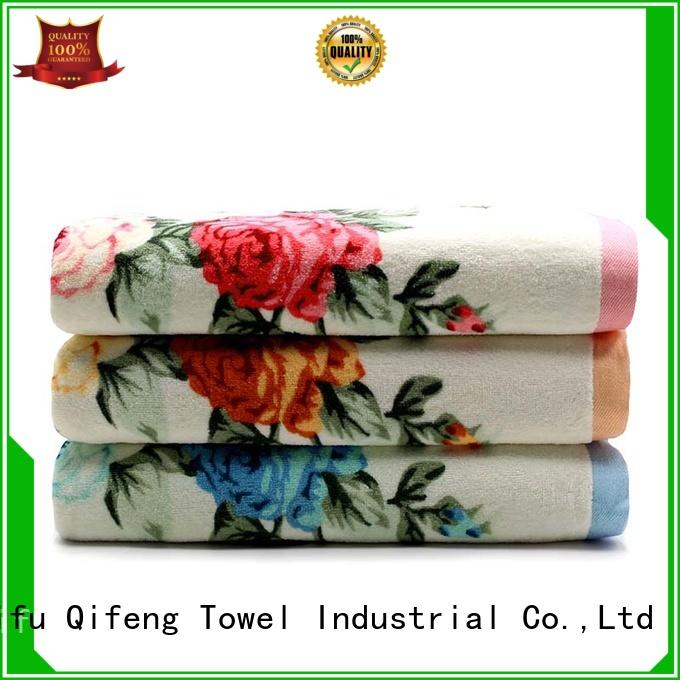 Ruifu Qifeng hotel customized towel set supplier for beach