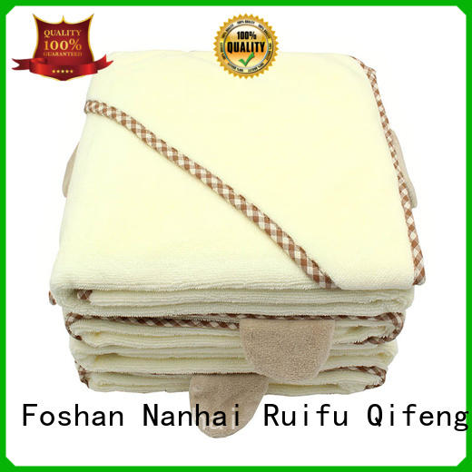 Personalized Hooded Towel Baby Towel Series - QF-010(F457 Terry)