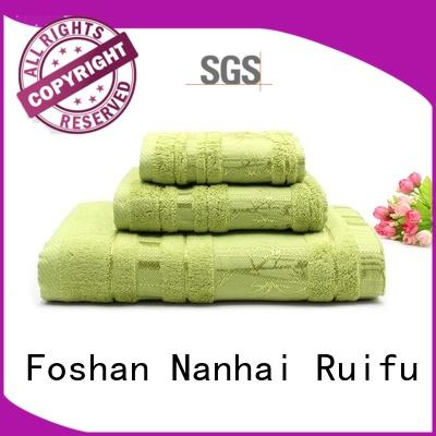 Ruifu Qifeng good quality towel set series factory price for hospital
