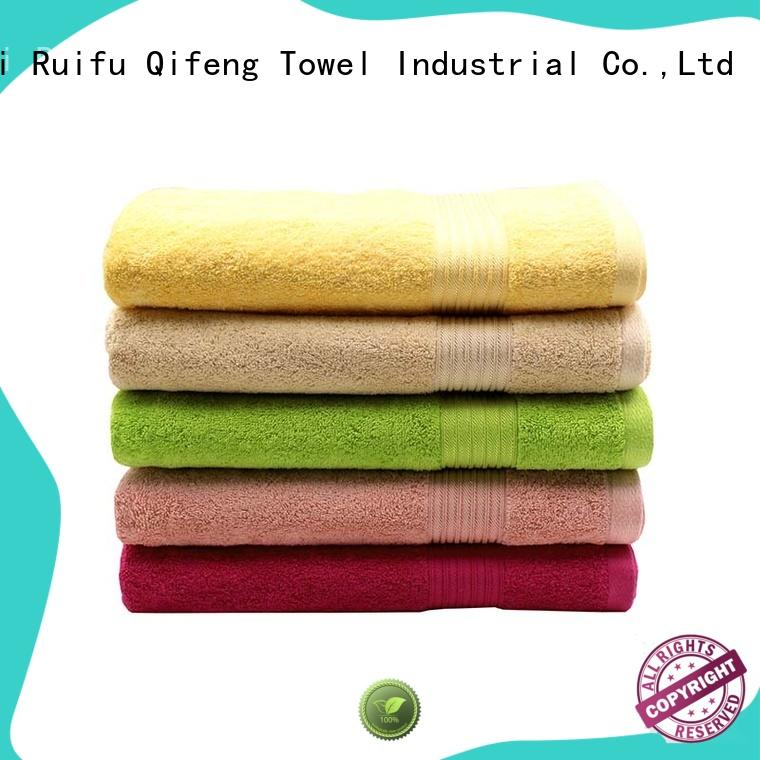 good quality personalized beach towels yarned wholesale for beach