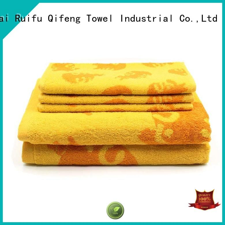 good quality customized towel set on sale for restaurant