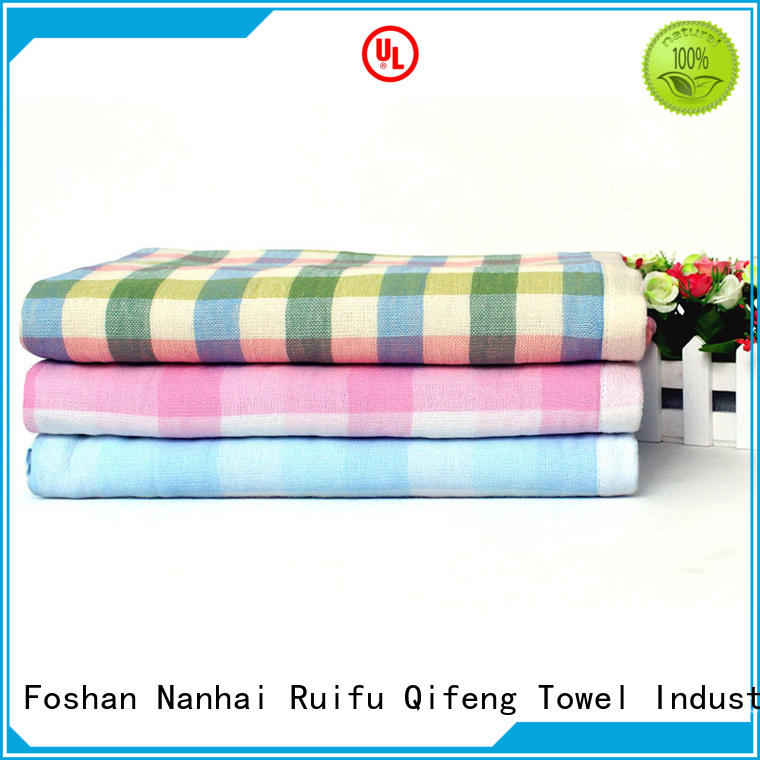 customized bamboo baby towel qf010f457 supplier for hospital