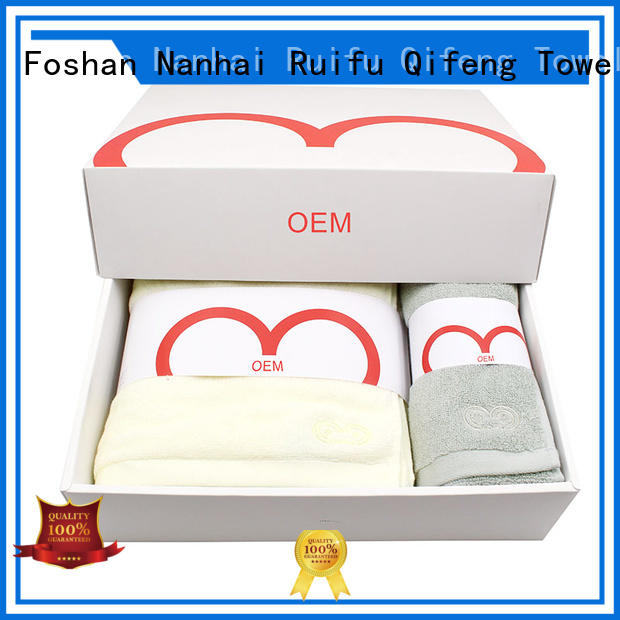 Ruifu Qifeng promotion quick dry towels on sale for hotel