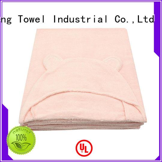natural infant hooded towel online for kindergarden