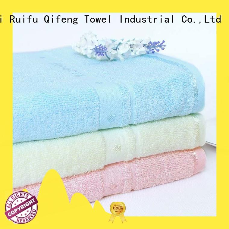 Ruifu Qifeng safe baby hooded towel promotion for hospital