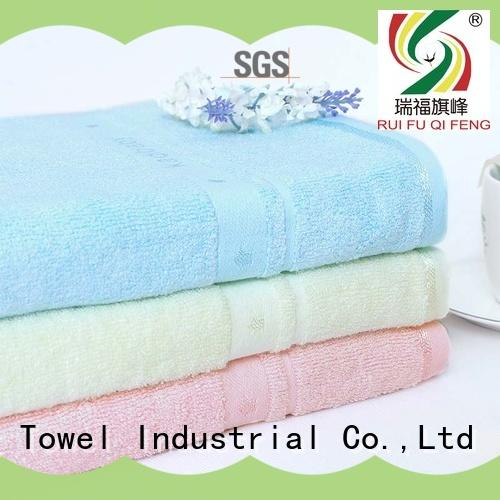 Ruifu Qifeng series soft baby towels promotion for hospital