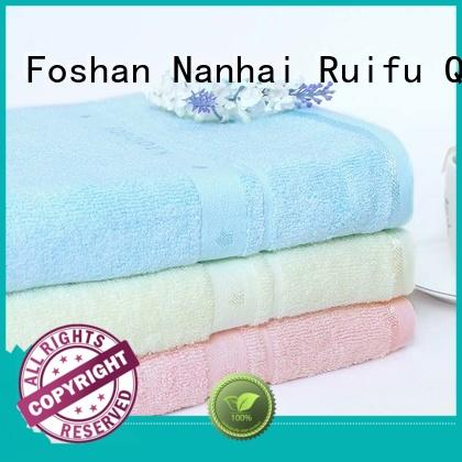 Ruifu Qifeng customized baby hooded towel promotion for hospital