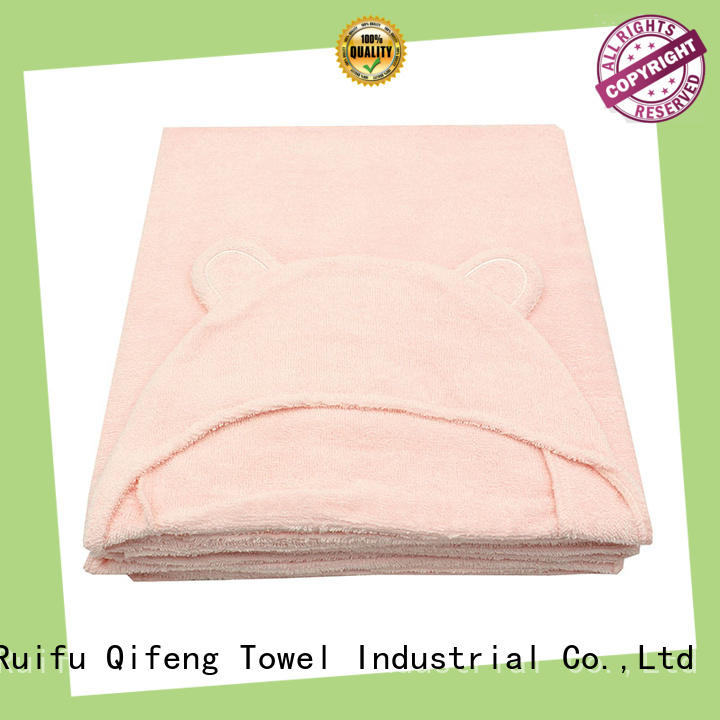Ruifu Qifeng qf019b722 baby hooded towel design for hospital