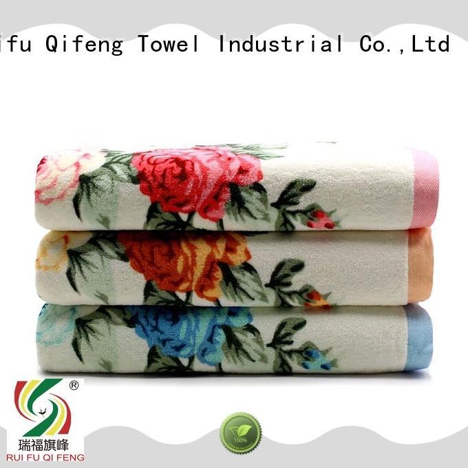 Ruifu Qifeng towel bamboo towel set online for beach