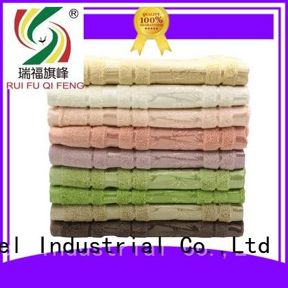 Ruifu Qifeng good quality cotton bath towels bath for beach
